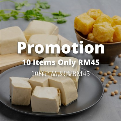 Promotion 10 Items RM45.00